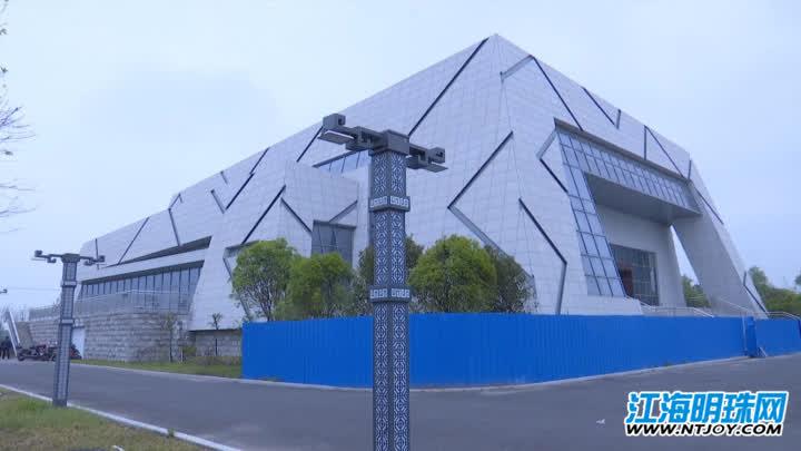 海安青墩遗址博物馆正在馆内布展中 5月18日将试行开放