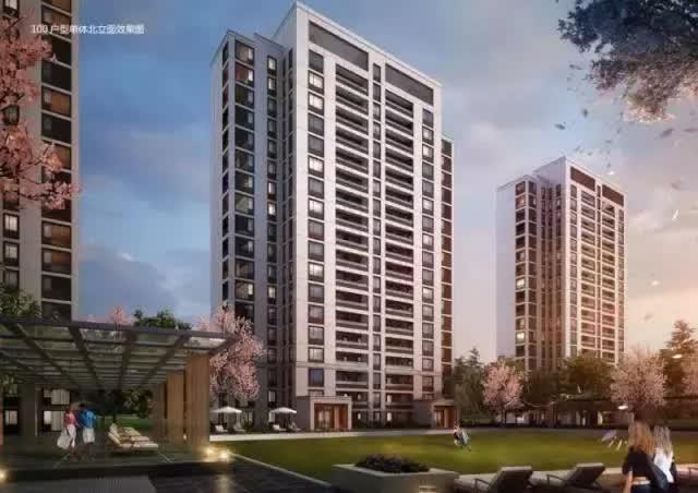 高层住宅立面效果图_一带四中心 来看南通中创区建设进展