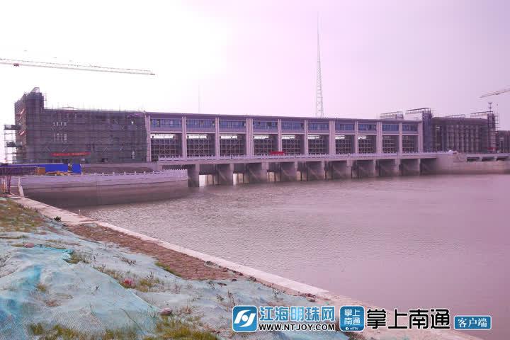 建设中的通吕运河水利枢纽工程.jpg