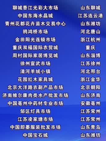 叠石桥家纺市场跻身中国商品市场综合百强榜前十