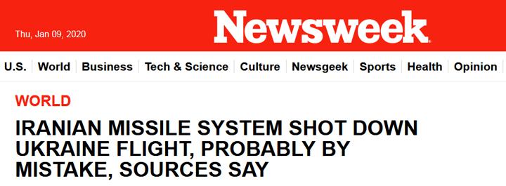 美国《新闻周刊》报道截图