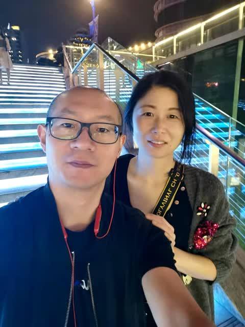 赵甜甜夫妇的自拍照(受访者供图)