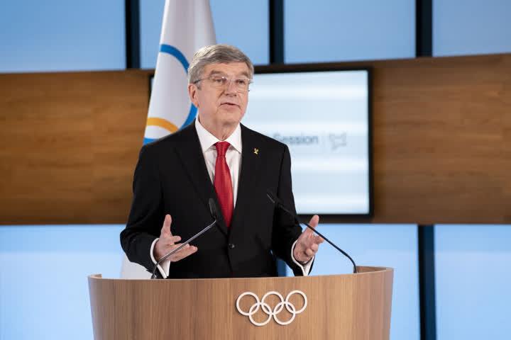 国际奥委会主席巴赫。图片来自国际奥委会官网
